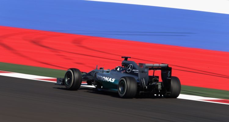 F1 Grand Prix of Russia - Practice