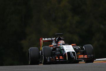 Nico Hulkenberg Force India VJM07 Mercedes