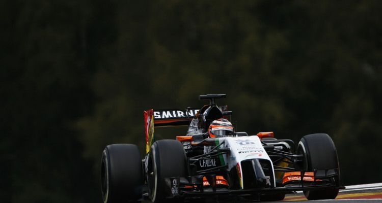Nico Hulkenberg Force India VJM07 Mercedes