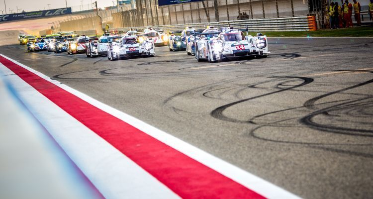 Start of Race - 6 Hours of Bahrain at Bahrain International Circuit (BIC) - Sakhir - Kingdom of Bahrain