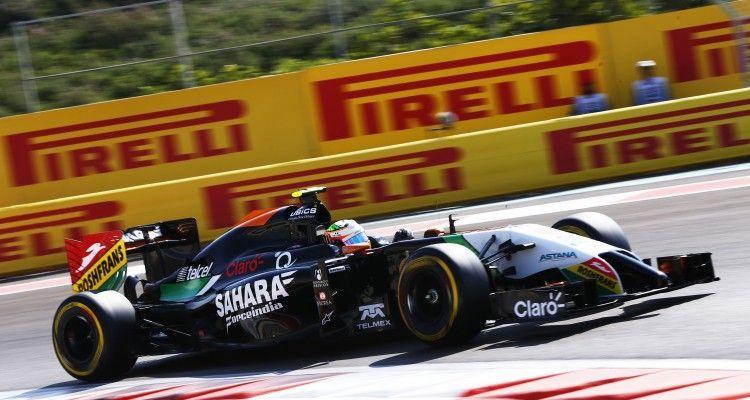 Sergio Perez Force India VJM07 Mercedes