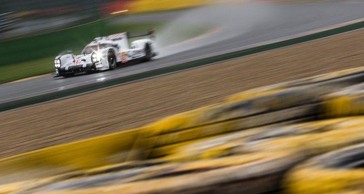 Car #19 / PORSCHE TEAM (DEU) / Porsche 919 Hybrid Hybrid / Nico Hülkenberg (DEU) / Earl Bamber (NZL) / Nick Tandy (GBR) - FIA WEC 6 hours of Spa-Francorchamps at Stavelot - Route du Circuit - Belgium