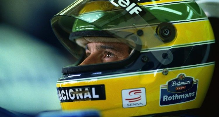 Ayrton Senna, Imola, San Marino, 1 May 1994. (Photo by Rainer W. Schlegelmilch/Getty Images)