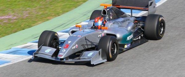 03 JAAFAR Jazeman (MAL) Formula Renault 3.5 action during 2015 Formula Renault 3.5 Series tests at Jerez de la Frontera, Spain from March 5th to 7th 2015. Photo Alvaro Rivero / DPPI