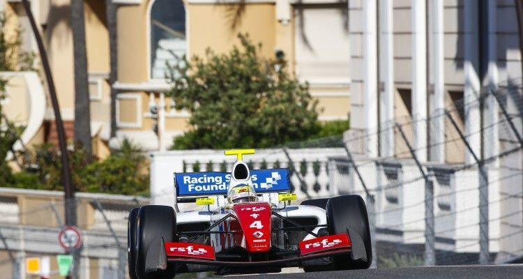 04 ROWLAND Oliver (GBR) Fortec Motorsports (GBR) action during the 2015 Formula Renault 3.5 race at Monaco from May 22 to 24th 2015, in Monaco. Photo Florent Gooden / DPPI