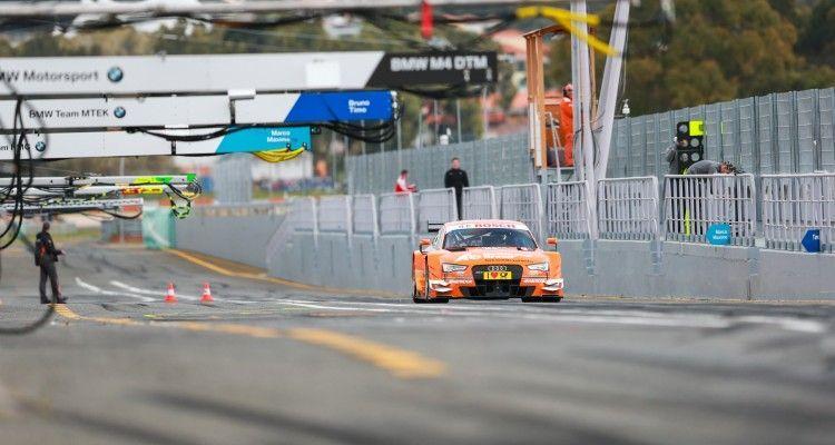 Motorsports / DTM test drives at Estoril, POR #53 Jamie Green (GBR, Audi Sport Team Rosberg, Audi RS 5 DTM)