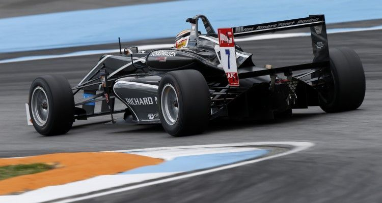 7 Charles Leclerc (MCO, Van Amersfoort Racing, Dallara F312 – Volkswagen), FIA Formula 3 European Championship, round 2, Hockenheim (GER) - 30. April - 3. May 2015