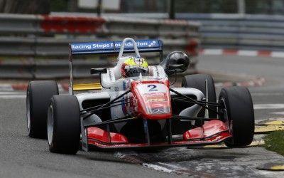 2 Jake Dennis (GBR, Prema Powerteam, Dallara F312 – Mercedes-Benz), FIA Formula 3 European Championship, round 3, Pau (FRA) - 15. - 17. May 2015