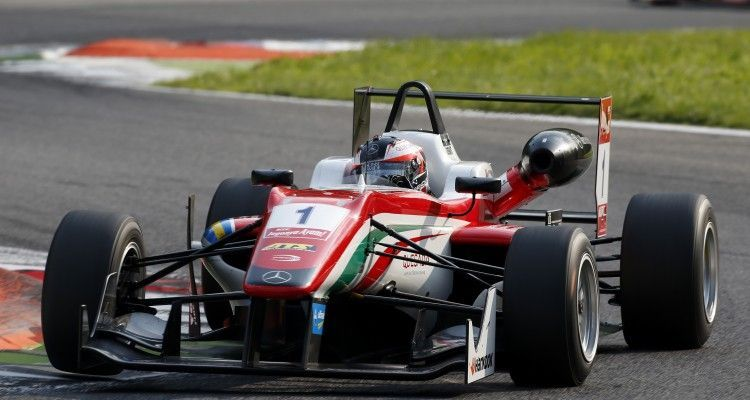 1 Felix Rosenqvist (SWE, Prema Powerteam, Dallara F312 – Mercedes-Benz), FIA Formula 3 European Championship, round 4, Monza (ITA) - 29. - 31. May 2015