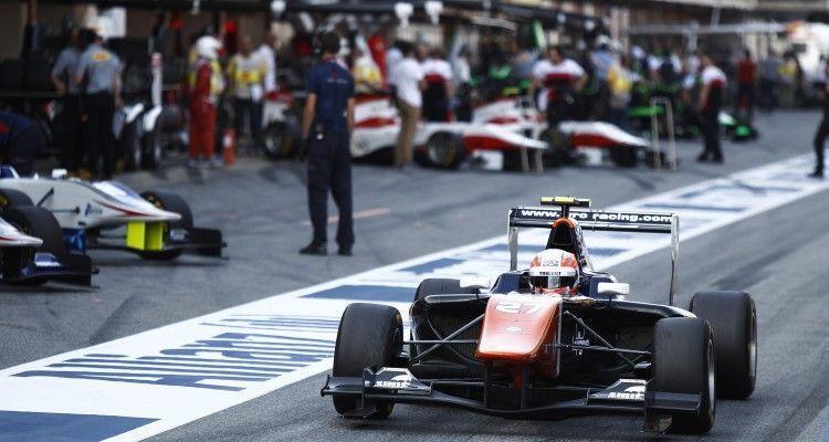 2015 GP3 Series Round 1. Circuit de Catalunya, Barcelona, Spain.  Friday 8 May 2015 Luca Ghiotto (ITA, Trident)  Photo: Sam Bloxham/GP3 Media Service ref: Digital Image _G7C1662