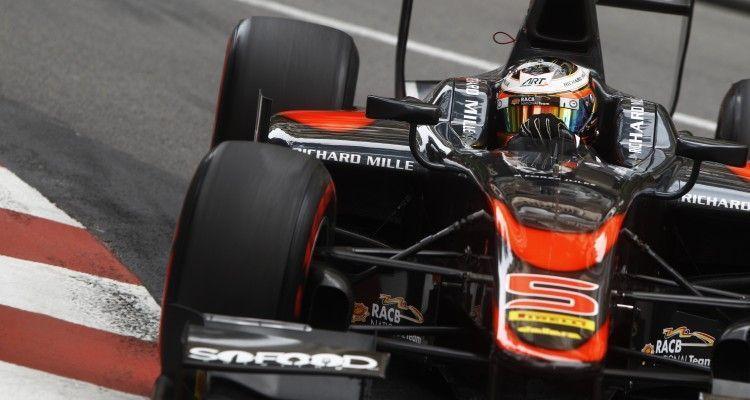 2015 GP2 Series Round 3 - Monte Carlo, Monaco. Thursday 21 May 2015. Stoffel Vandoorne (BEL, ART Grand Prix)  Photo: Sam Bloxham/GP2 Series Media Service. ref: Digital Image _G7C5707