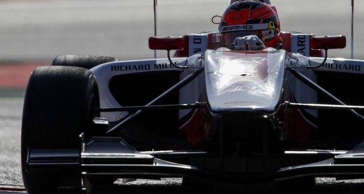 2015 GP3 Series Round 1. Circuit de Catalunya, Barcelona, Spain. Friday 8 May 2015. Esteban Ocon (FRA, ART Grand Prix). Photo: Zak Mauger/GP3 Series Media Service. ref: Digital Image _L0U3230