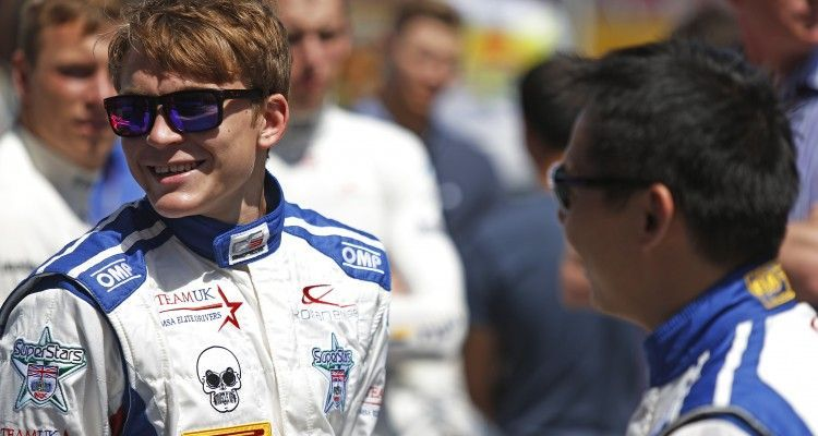 2015 GP3 Series Round 1 - Circuit de Catalunya, Barcelona, Spain. Thursday 7 May 2015. Matthew Parry (GBR, Koiranen GP)  Photo: Sam Bloxham/GP3 Series Media Service. ref: Digital Image _SBL3856