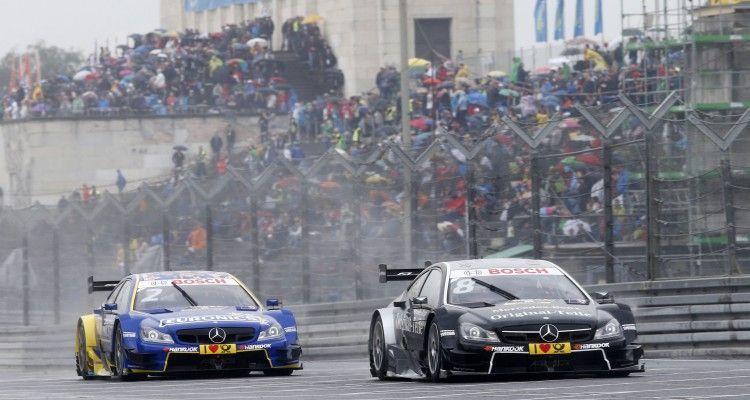 #2 Gary Paffett, Mercedes-AMG C63 DTM,  #8 Christian Vietoris, Mercedes-AMG C63 DTM