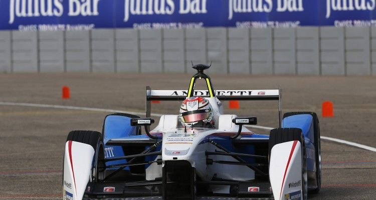 2014/2015 FIA Formula E Championship. Berlin ePrix, Berlin Tempelhof Airport, Germany. Saturday 23 May 2015  Photo: Zak Mauger/LAT/Formula E ref: Digital Image _L0U7942