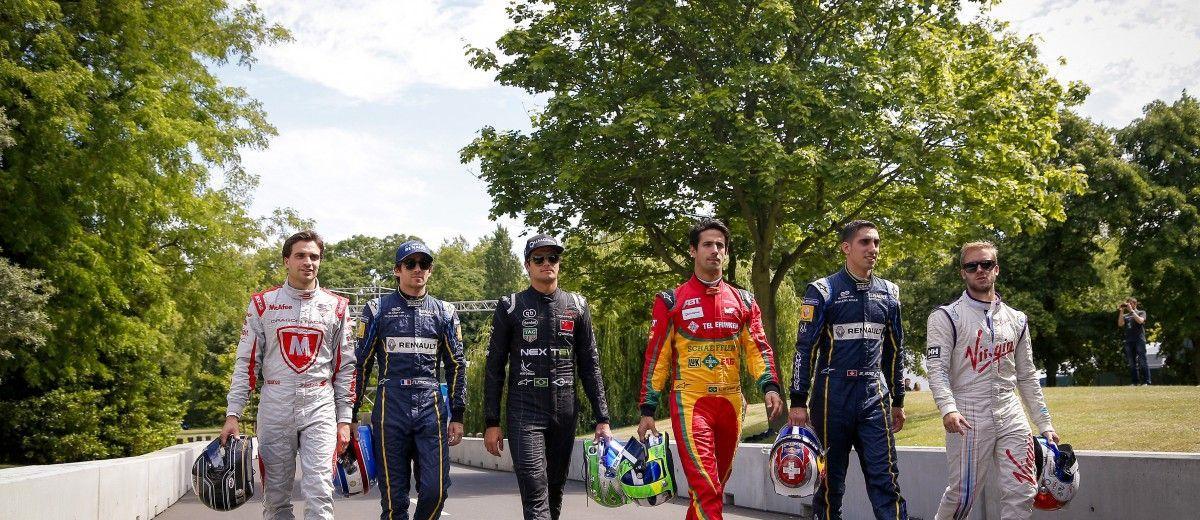 2014/2015 FIA Formula E Championship. London e-Prix, Battersea Park, London, UK. Friday 26 June 2015. World Copyright: Adam Warner/LAT Photographic/Formula E. ref: Digital Image _L5R9566