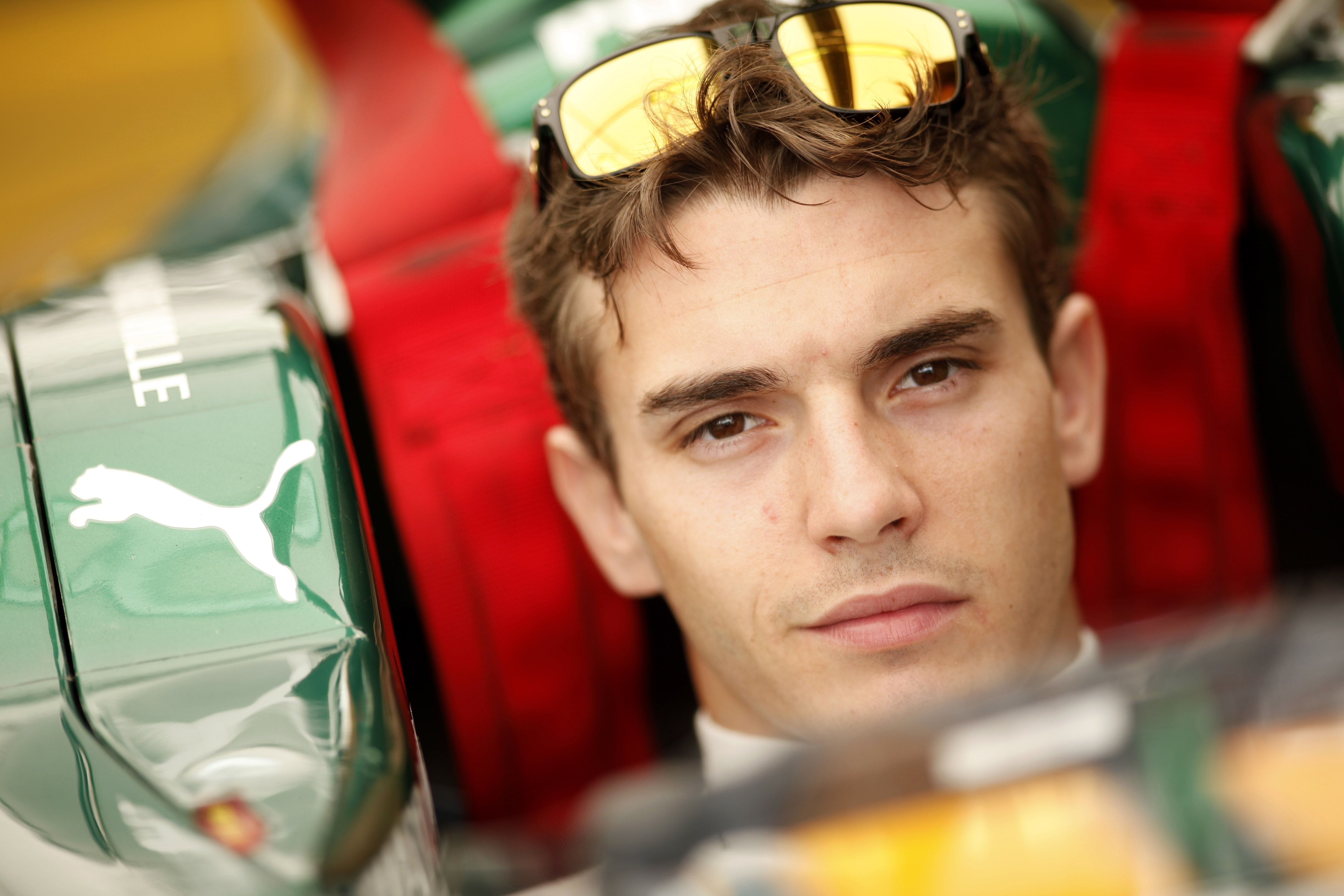 2011 GP2 Series. Round 7. Hungaroring, Budapest, Hungary. 30th July 2011.  Saturday Race.  Jules Bianchi (FRA,Lotus ART). Portrait. Photo: Drew Gibson/GP2 Media Service. Ref: DG5D9170.jpg