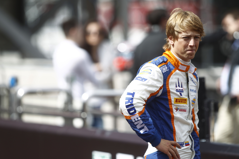 2015 GP2 Series Round 3 - Monte Carlo, Monaco. Thursday 21 May 2015. Johnny Cecotto (VEN, Hilmer Motorsport)  Photo: Sam Bloxham/GP2 Series Media Service. ref: Digital Image _G7C6132