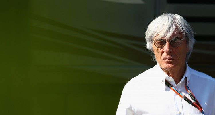 MONTREAL, QC - JUNE 06:  F1 supremo Bernie Ecclestone looks on during qualifying for the Canadian Formula One Grand Prix at Circuit Gilles Villeneuve on June 6, 2015 in Montreal, Canada.  (Photo by Clive Mason/Getty Images)