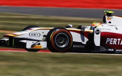 2015 GP2 Series Round 5. Silverstone, Northamptonshire, England. Friday 3 July 2015. Rio Haryanto (INA, Campos Racing). Photo: Zak Mauger/GP2 Series Media Service. ref: Digital Image _L0U2443