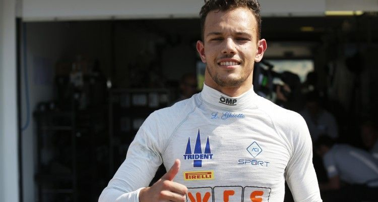 2015 GP3 Series Round 4.  Hungaroring, Budapest, Hungary. Saturday 25 July 2015. Luca Ghiotto (ITA, Trident)  Photo:  Sam Bloxham/GP3 Media Service ref: Digital Image _SBL5341