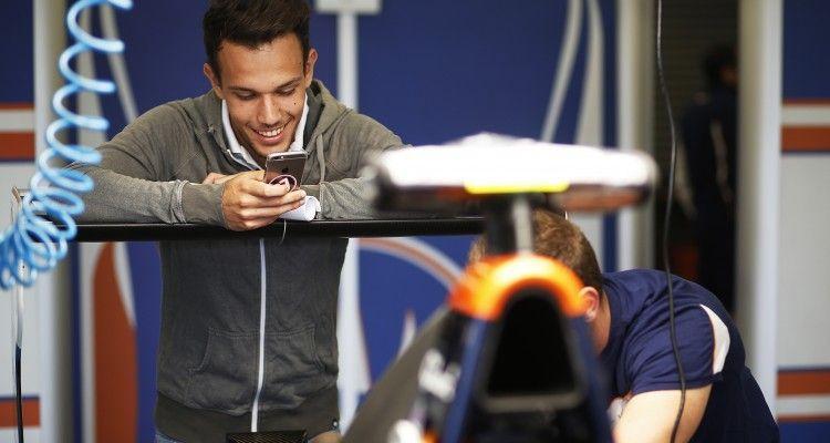 2015 GP3 Series Round 3.  Silverstone, Northamptonshire, England. Thursday 2 July 2015. Luca Ghiotto (ITA, Trident)  Photo:  Sam Bloxham/GP3 Media Service ref: Digital Image _SBL8813