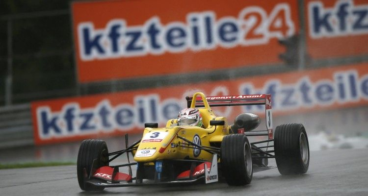 3 Antonio Giovinazzi (ITA, Jagonya Ayam with Carlin, Dallara F312 - Volkswagen), FIA Formula 3 European Championship, round 8, race 3, Red Bull Ring (AUT) - 31. July - 2. August 2015