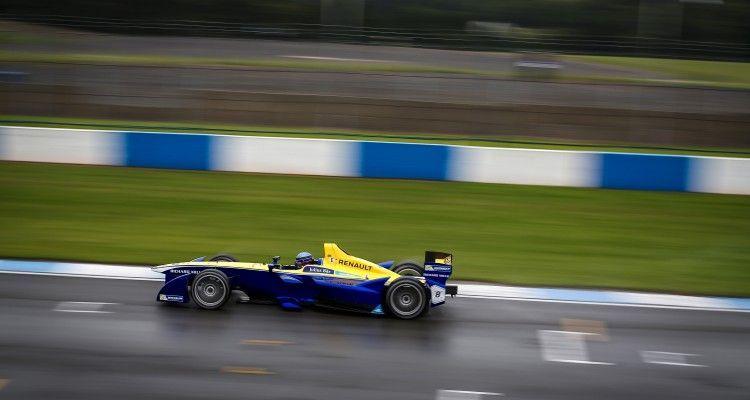 FIA Formula E Championship 2015/16. Pre-season Testing Session Five. Nicolas Prost (FRA), Renault e.Dams Z.E.15  Donington Park Racecourse, Derby, England. Monday 24 August 2015 Photo: Adam Warner / LAT / FE ref: Digital Image _L5R2390