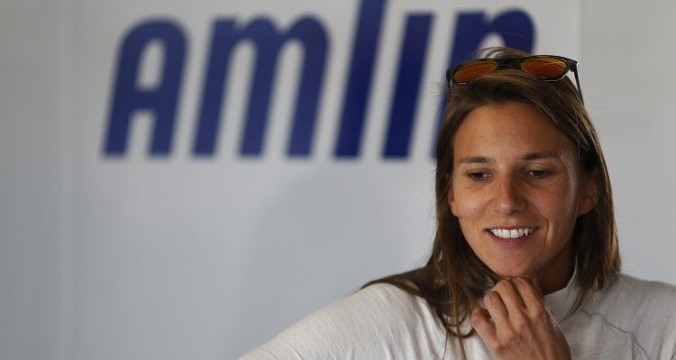 FIA Formula E Test Day, Donington Park, UK. Monday 17 August 2015. Simona De Silvestro (SUI), Andretti ATEC-01   Photo: Sam Bloxham/FIA Formula E/LAT ref: Digital Image _SBL0258