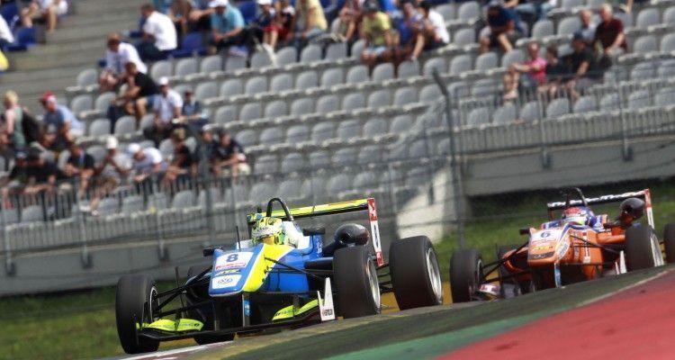 Alessio Lorandi (ITA) Van Amersfoort Racing Dallara F312 – Volkswagen, FIA F3 European Championship,  Round 8, Spielberg, 31.July - 02. August 2015
