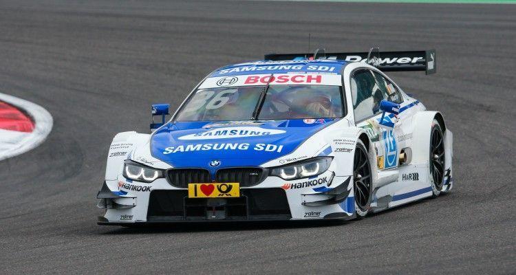 Motorsports: DTM race Nuerburgring, #36 Maxime Martin (BEL, BMW Team RMG, BMW M4 DTM)