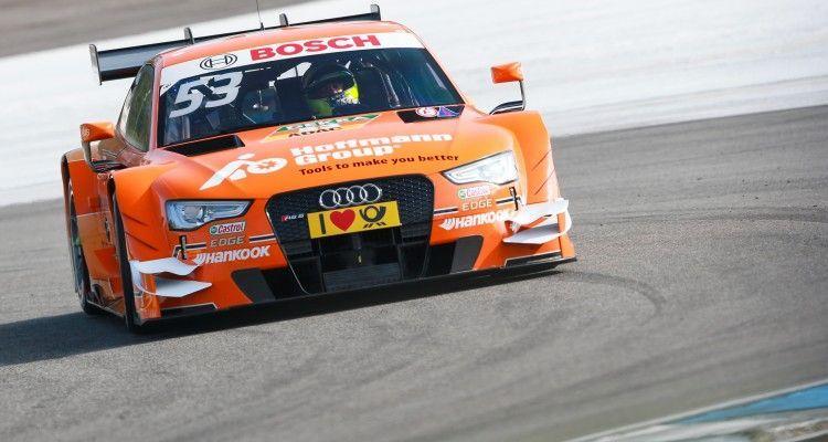 Motorsports / DTM: german touring cars championship - 1. race Hockenheimring, GER #53 Jamie Green (GBR, Audi Sport Team Rosberg, Audi RS 5 DTM)