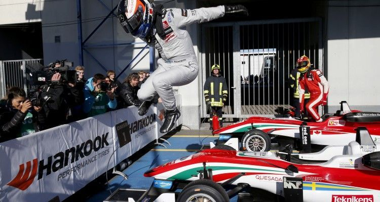 1 Felix Rosenqvist (SWE, Prema Powerteam, Dallara F312 – Mercedes-Benz), FIA Formula 3 European Championship, round 10, race 3, Nürburgring (GER) - 25. - 27. September 2015