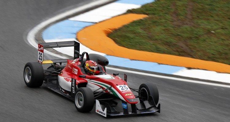 25 Lance Stroll (CAN, Prema Powerteam, Dallara F312 – Mercedes-Benz), FIA Formula 3 European Championship, round 11, Hockenheim (GER) - 16. - 18. October 2015