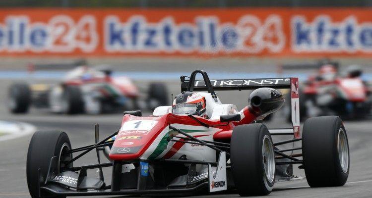 1 Felix Rosenqvist (SWE, Prema Powerteam, Dallara F312 – Mercedes-Benz), FIA Formula 3 European Championship, round 11, Hockenheim (GER) - 16. - 18. October 2015