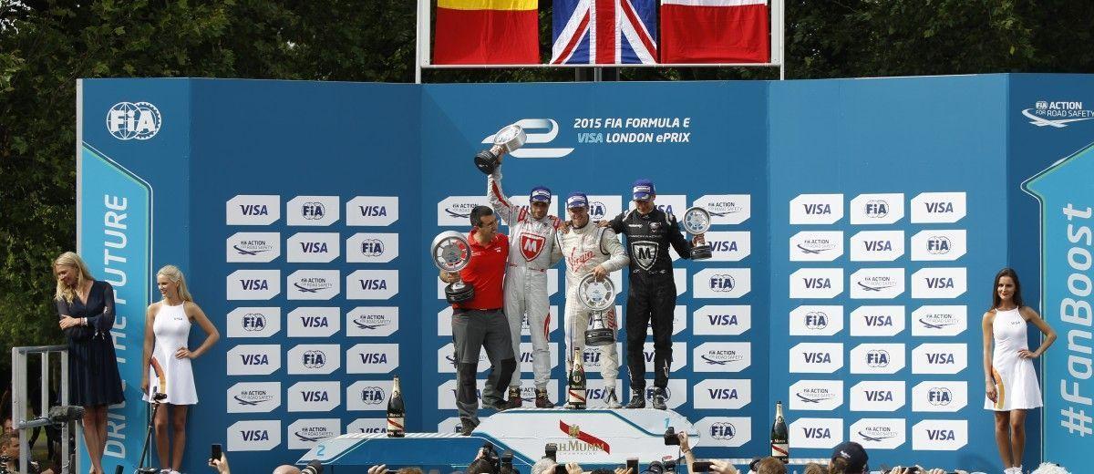 2014/2015 FIA Formula E Championship. London e-Prix, Battersea Park, London, UK. Sunday 28 June 2015. World Copyright: Sam Bloxham/LAT Photographic/Formula E. ref: Digital Image _G7C8669