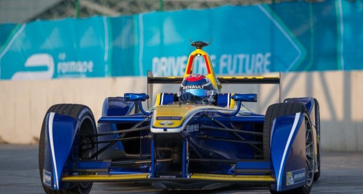 FIA Formula E Championship 2015/16. Beijing ePrix, Beijing, China. Friday session  Beijing, China, Asia. Friday 23 October 2015 Photo:  / LAT / FE ref: Digital Image _L2_3624