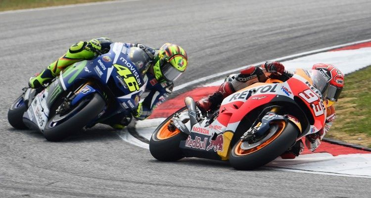 SEPANG,MALAYSIA,25.OCT.15 - MOTORSPORT - MotoGP, Grand Prix of Malaysia, Sepang International Circuit. Image shows Marc Marquez (ESP/ Honda). Photo: GEPA pictures/ Gold and Goose/ Gareth Harford - For editorial use only. Image is free of charge.