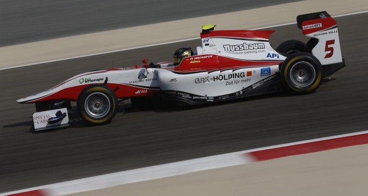 2015 GP3 Series Round 8. Bahrain International Circuit, Bahrain Thursday 19 November 2015. Marvin Kirchhofer (GER, ART Grand Prix)  Photo: Alastair Staley/GP3 Series Media Service. ref: Digital Image _R6T6520