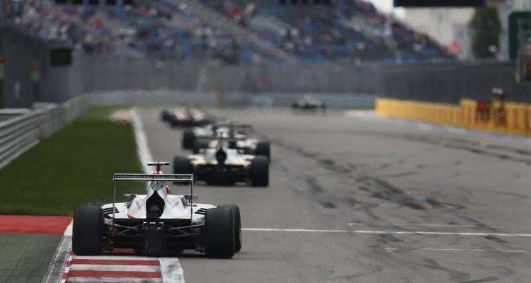 2015 GP3 Series Round 7. Sochi Autodrom, Sochi, Russia Sunday 11 October 2015. Luca Ghiotto (ITA, Trident)  Photo: Sam Bloxham/GP3 Series Media Service. ref: Digital Image _SBL4486