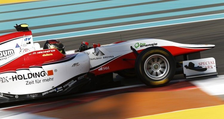 2015 GP3 Series Round 9 Yas Marina Circuit, Abu Dhabi, UAE. Friday 27 November 2015. Marvin Kirchhofer (GER, ART Grand Prix)  Photo: Sam Bloxham/GP3 Series Media Service. ref: Digital Image _SBL6917