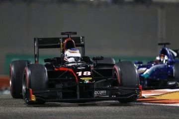 2015 GP2 Series Round 11. Yas Marina Circuit, Abu Dhabi, UAE. Saturday 28 November 2015. Sergey Sirotkin (RUS, Rapax)  Photo: Sam Bloxham/GP2 Series Media Service. ref: Digital Image _SBL9248