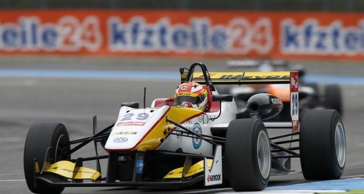 29 Arjun Maini (IND, Van Amersfoort Racing, Dallara F312 – Volkswagen), FIA Formula 3 European Championship, round 11, Hockenheim (GER) - 16. - 18. October 2015