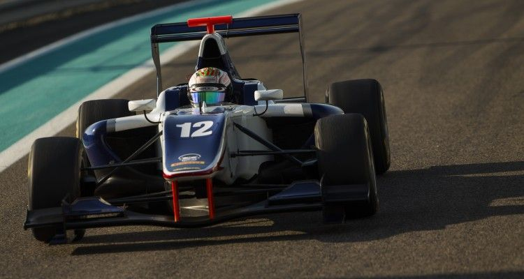 2015 GP3 Series Test 4. Yas Marina Circuit, Abu Dhabi, United Arab Emirates. Thursday 3 December 2015. Matthew Parry (GBR, Koiranen GP)  Photo: Sam Bloxham/GP3 Series Media Service. ref: Digital Image _SBL2052
