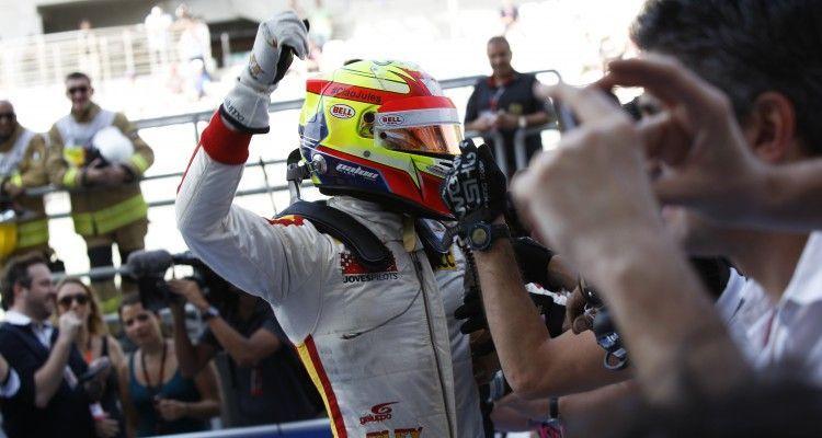 2015 GP3 Series Round 9 Yas Marina Circuit, Abu Dhabi, UAE. Sunday 29 November 2015. Alex Palou (ESP, Campos Racing)  Photo: Sam Bloxham/GP3 Series Media Service. ref: Digital Image _G7C8650