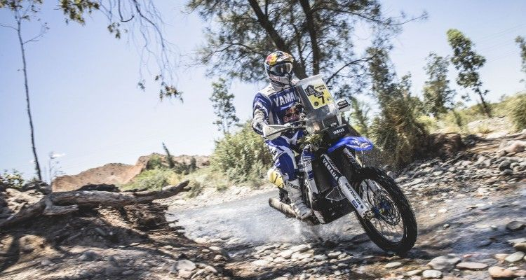 Helder Rodrigues (PRT) from Yamaha Racing Yamalube Official Rally races during stage 11 of Rally Dakar 2016 from La Rioja to San Juan, Argentina on January 14, 2016.