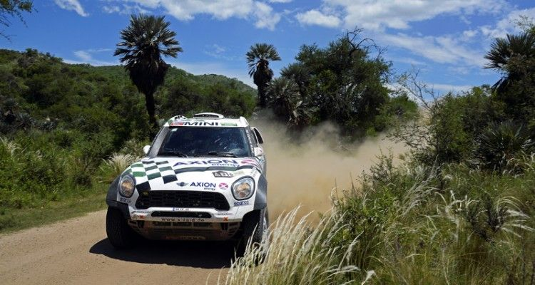 315 HIRVONEN Mikko (fin) PERIN Michel (fra) MINI action during the Dakar 2016 Argentina - Bolivia, Etape 12 / Stage 12, San Juan - Villa Carlos Paz on January 15, 2016 in Villa Carlos Paz, Argentina - Photo Eric Vargiolu / DPPI