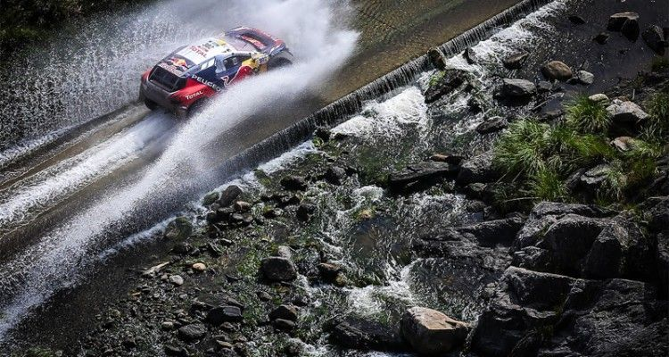 302 PETERHANSEL Stephane (fra) COTTRET Jean Paul (fra) PEUGEOT action during the Dakar 2016 Argentina - Bolivia, Etape 12 / Stage 12, San Juan - Villa Carlos Paz on January 15, 2016 in Villa Carlos Paz, Argentina - Photo A.Lavadinho / A.Vialatte / @World / ASO