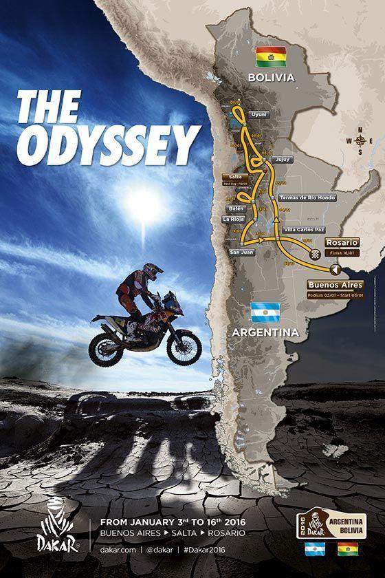 Recorrido Dakar 2016