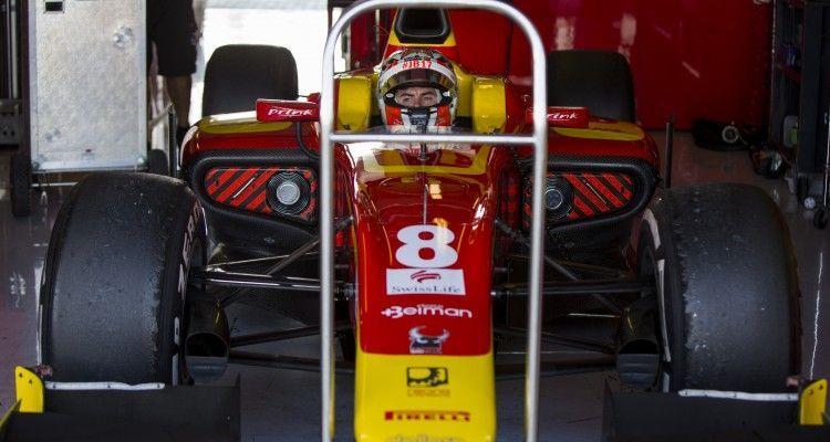 2015 GP2 Series Test 3. Yas Marina Circuit, Abu Dhabi, United Arab Emirates. Friday 4 December 2015. Norman Nato (FRA, Racing Engineering). Photo: Zak Mauger/GP2 Series Media Service. ref: Digital Image _L0U4408
